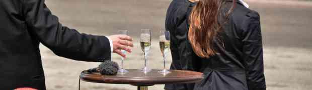 Champagne på Lunden