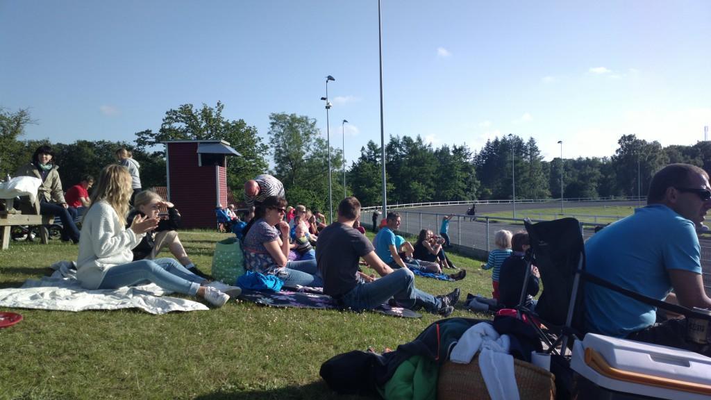 Travbana picknick