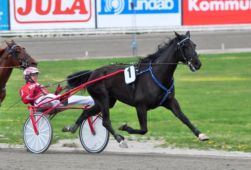 BBS Suglarlight överlägsen i Olympiatravet. Foto: travfilosofen.se